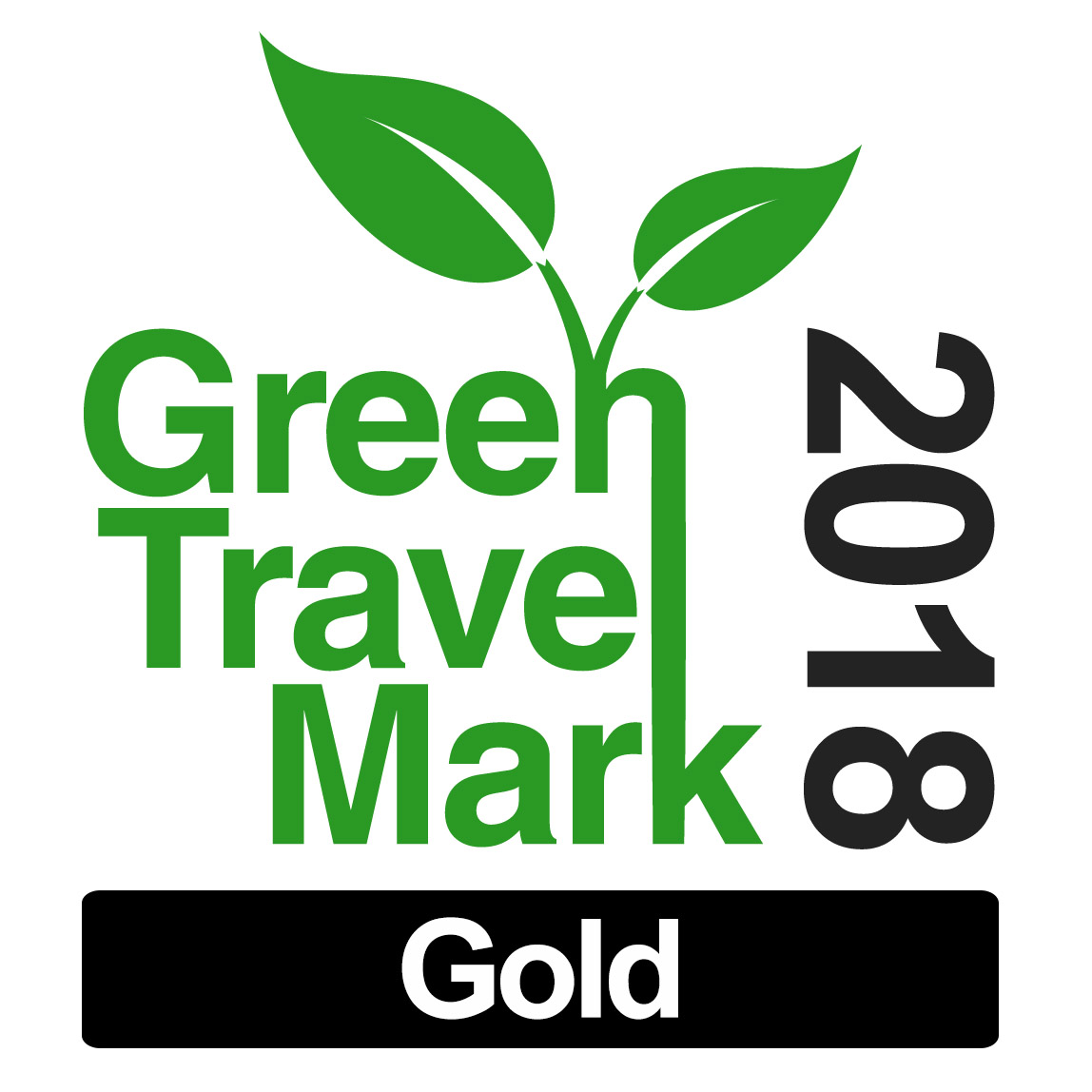 Green Travel Mark_Gold 2018